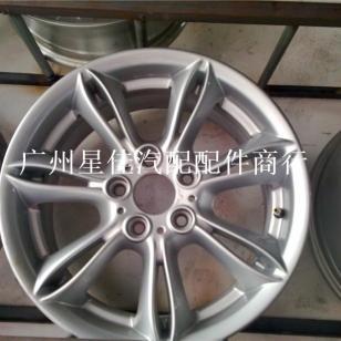 奔驰17寸轮毂轮胎铝合金拆车市场图片