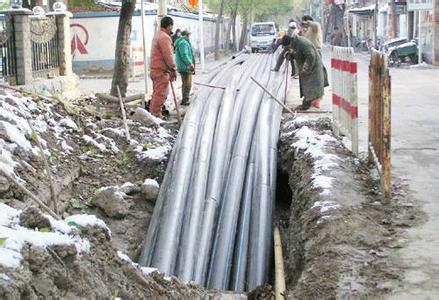 供应山丹县西安非开挖顶管专业顶管施工图片