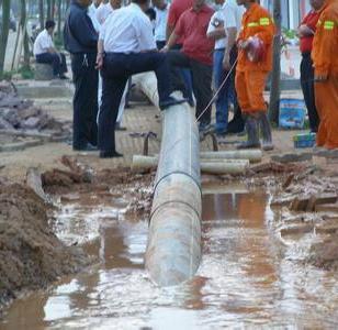 北京非开挖定向钻施工图片