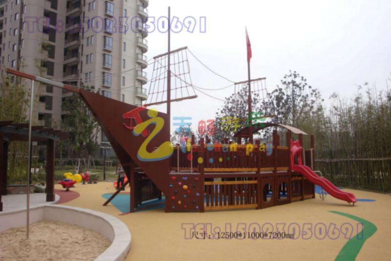 木质海盗船图片/木质海盗船样板图 (4)