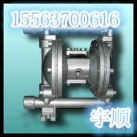 供应QBY-50气动隔膜泵304不锈图片