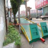 供应惠州镇隆集装箱移动式登车桥订购,三良机械现货提供