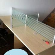 供应1.2米1.4米办公桌合肥家用电脑桌 屏风隔断桌出售