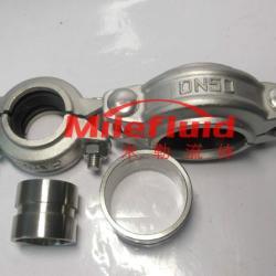 供应不锈钢拷貝林卡箍     卫生级不锈钢拷貝林卡箍