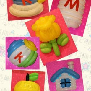 气球画/魔术气球造型/气球装饰图片
