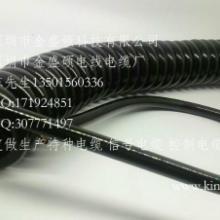 供应烟台弹弓线/卷筒电线/耐高温螺旋电缆/TPU螺旋电缆线/曲线直销批发