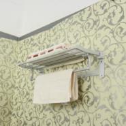 毛巾架/太空铝双层亚光/浴巾架图片