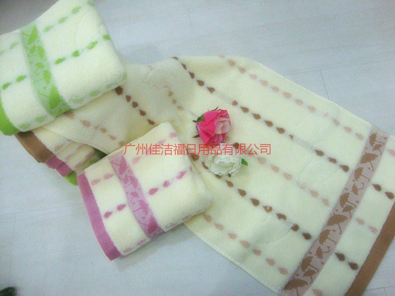 供应纯棉高品质毛巾浴巾