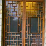 供应木花格窗户/木雕门窗/仿古门窗/适用于茶楼/酒店/寺庙等中式装修