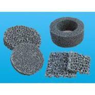 特殊尺寸碳化硅泡沫过滤网生产图片