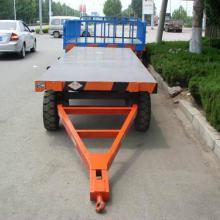 供应广州平板拖车 广州平板拖车哪里有卖 广州叉车牵引平板拖车
