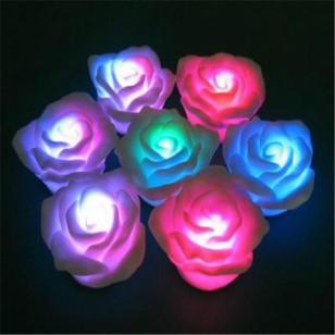 五星行夜光玫瑰花专用夜光粉图片