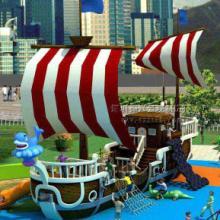供应海南陆地观赏船小区游玩船 园林景观船基本结构