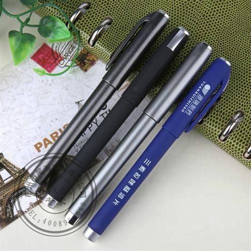供应塑料中性笔水性笔签字笔广告笔