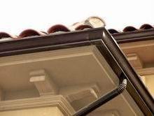 供应聊城蒂美彩铝7英寸K型成品天沟丨阳光房屋檐集水槽批发