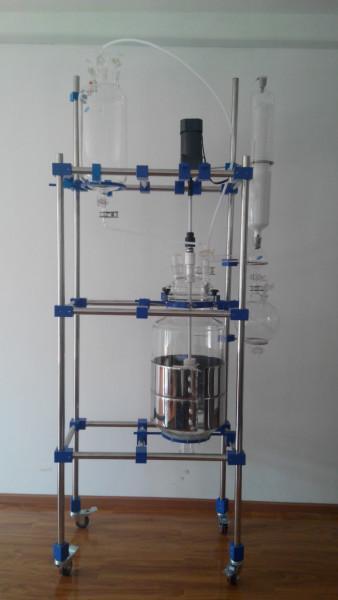 供应30L单层玻璃反应釜,30L单层玻璃反应釜价格,30L单层玻璃反应釜厂家