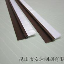 供应昆山PVC毛刷门底密封毛刷条防尘刷批发