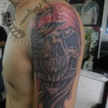 供应临沂包臂纹身花臂纹身好看的纹身