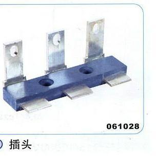 叉式接线柱插头图片