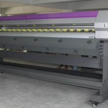 供应电视墻幕喷绘机1.6米宽压电写真机 小型相片打印机 微信照片打印批发