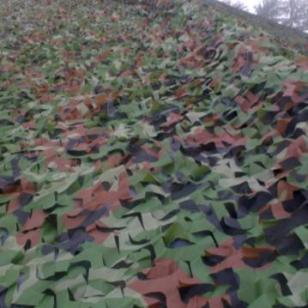 北京丛林防航拍伪装网图片
