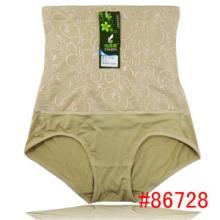 供应竹纤维女士收腹裤 厂家直销舒适提臀竹纤维塑身收腹裤批发
