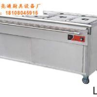 供应不锈钢售饭车电热保温车