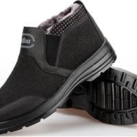厚底户外男士棉鞋老北京工艺棉布鞋