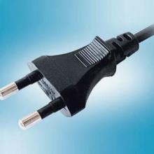 供应插头VDE认证两圆插/工具插/法式插