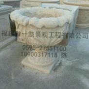 石材花盆/大理石石雕花钵图片