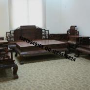 老挝大红酸枝红木家具图片