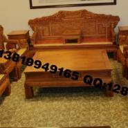红木家具沙发图片