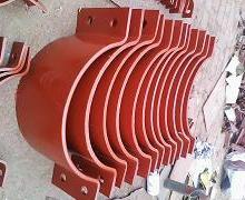 供应基准型双螺栓管夹