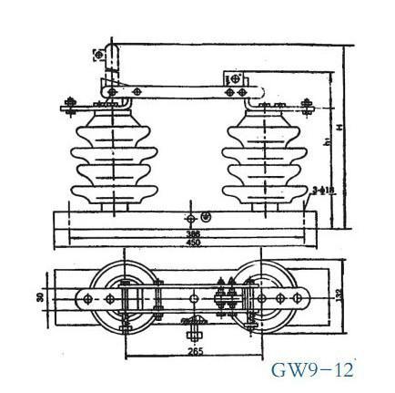供应GW9-12/630隔离开关价格