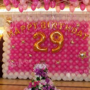 生日宴气球装饰/活动气球装饰图片