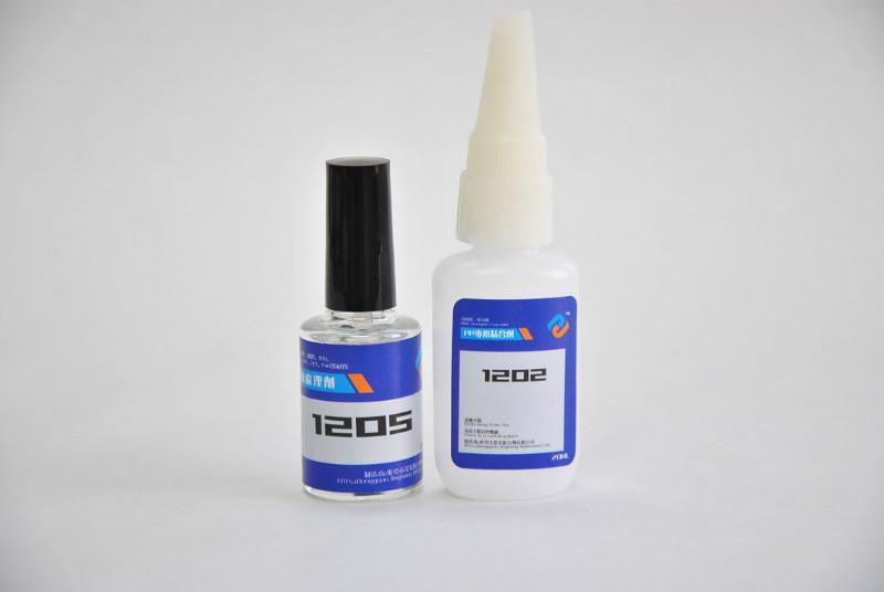 供应PP胶水白化现象解决方法,粘PP快干胶水,PP粘ABS胶水透明