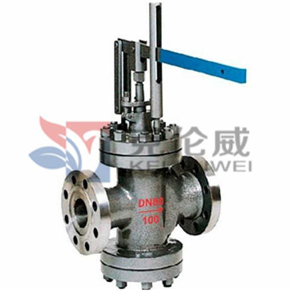 供应y45h杠杆式蒸汽法兰减压阀图片