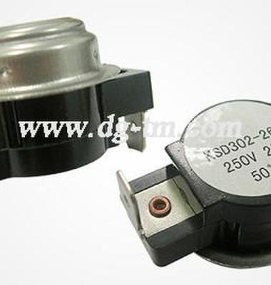 KSD双极温控器大电流温控开关图片/KSD双极温控器大电流温控开关样板图 (1)