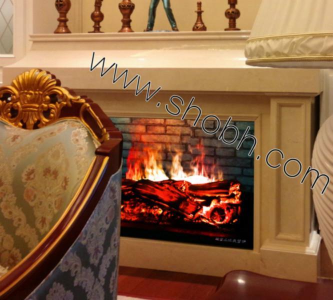 供应北京别墅客厅3D壁炉三维立体仿真壁炉3D电壁炉伏羲壁炉品牌