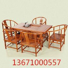 实木仿古茶桌仿古茶桌价格图片