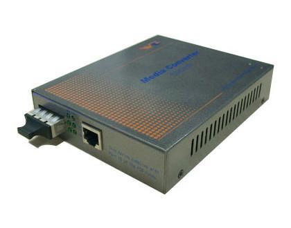 10/100/1000M 自适应快速以太网光纤收发器