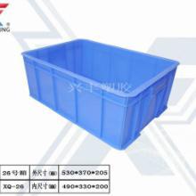 供应16套装碗餐具消毒塑料箱子,餐具周转箱图片批发