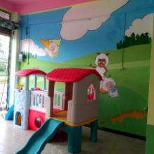 供应柳州幼儿园装修彩绘手绘图片