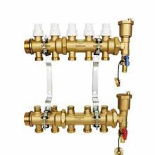 供应曼瑞德分集水器  A7系列分水器 黄铜材质