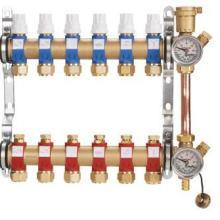 供应上海曼瑞德分集水器 A9系列智能双调节分集水器 整体锻造