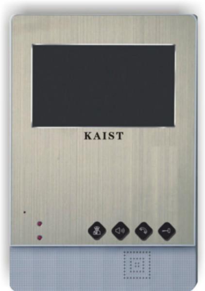 供应网线型4.3寸彩色金属可视分机批发,怀化网线可视分机批发