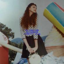 供应杭州米莱2014春装品牌尾货折扣批发上衣风衣连衣裙13380111690图片