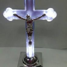 供应LED发光十字架灯灯芯宗教耶稣工艺品发光机芯深圳LED7彩灯芯生产厂批发