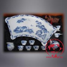 供应景德镇制茶具套装送领导礼品茶具高档手绘茶具