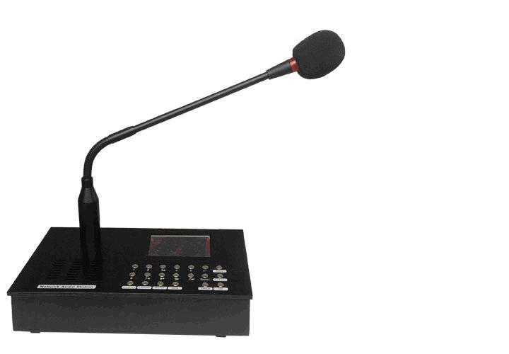 供应IP网络广播对讲话筒SV-8003